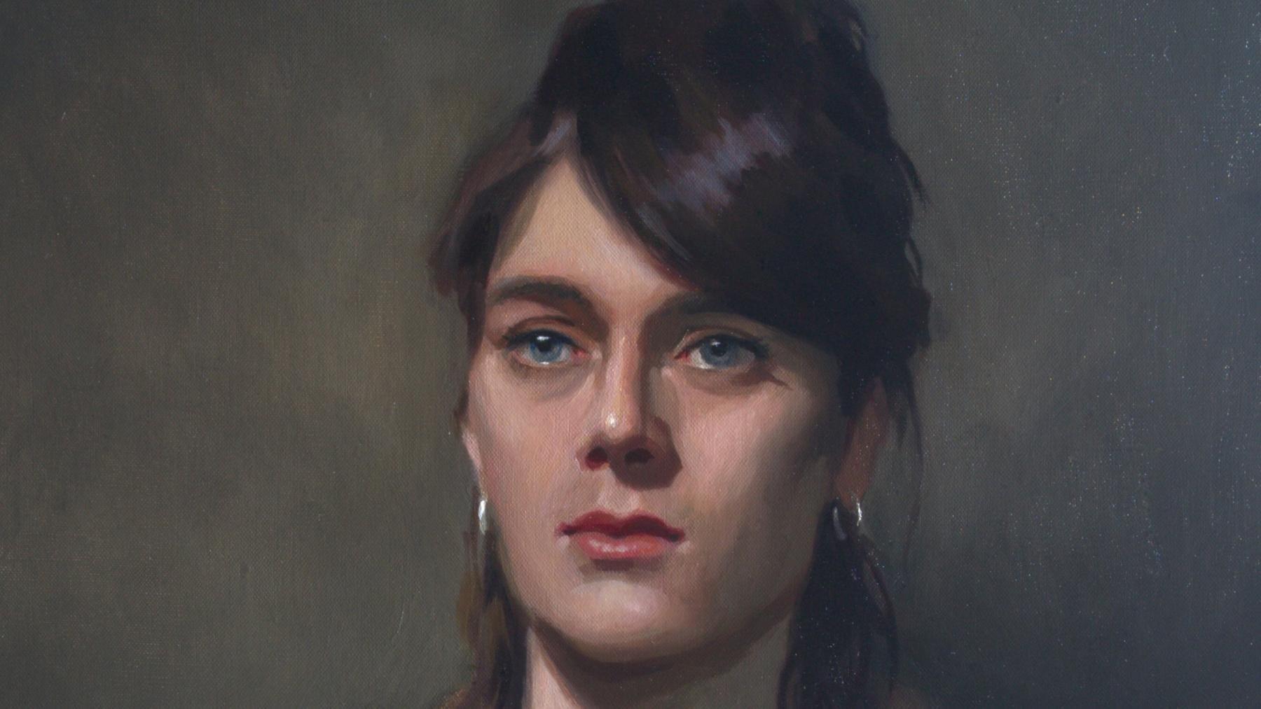 """Emma"" (Detail) by Ben Laughton Smith"