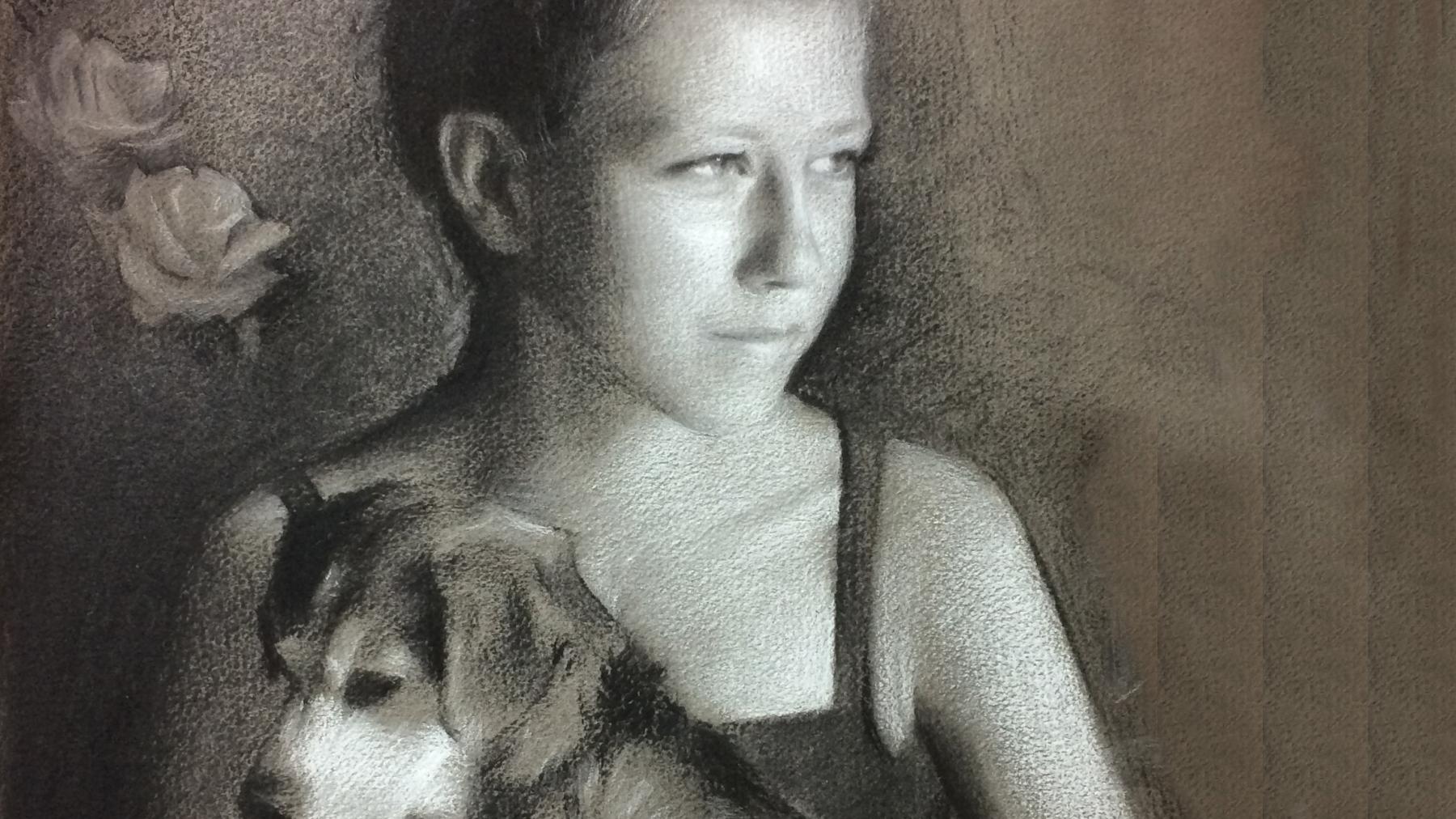 """Heidi"" (detail) by Lucas Garcia"