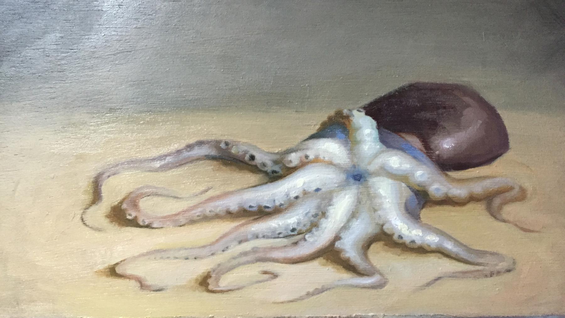"""White Octopus"" (detail) by Lizet Dingemans"