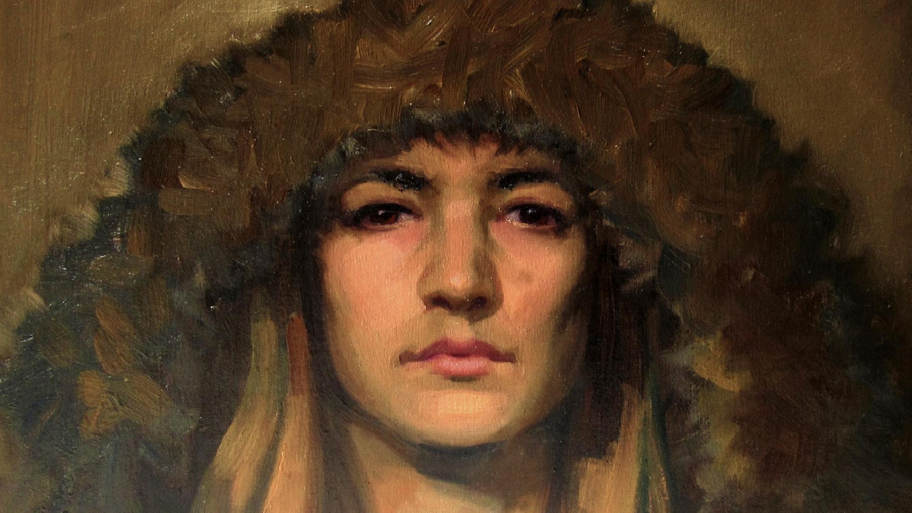 'Self Portrait' (detail) by Lizet Dingemans