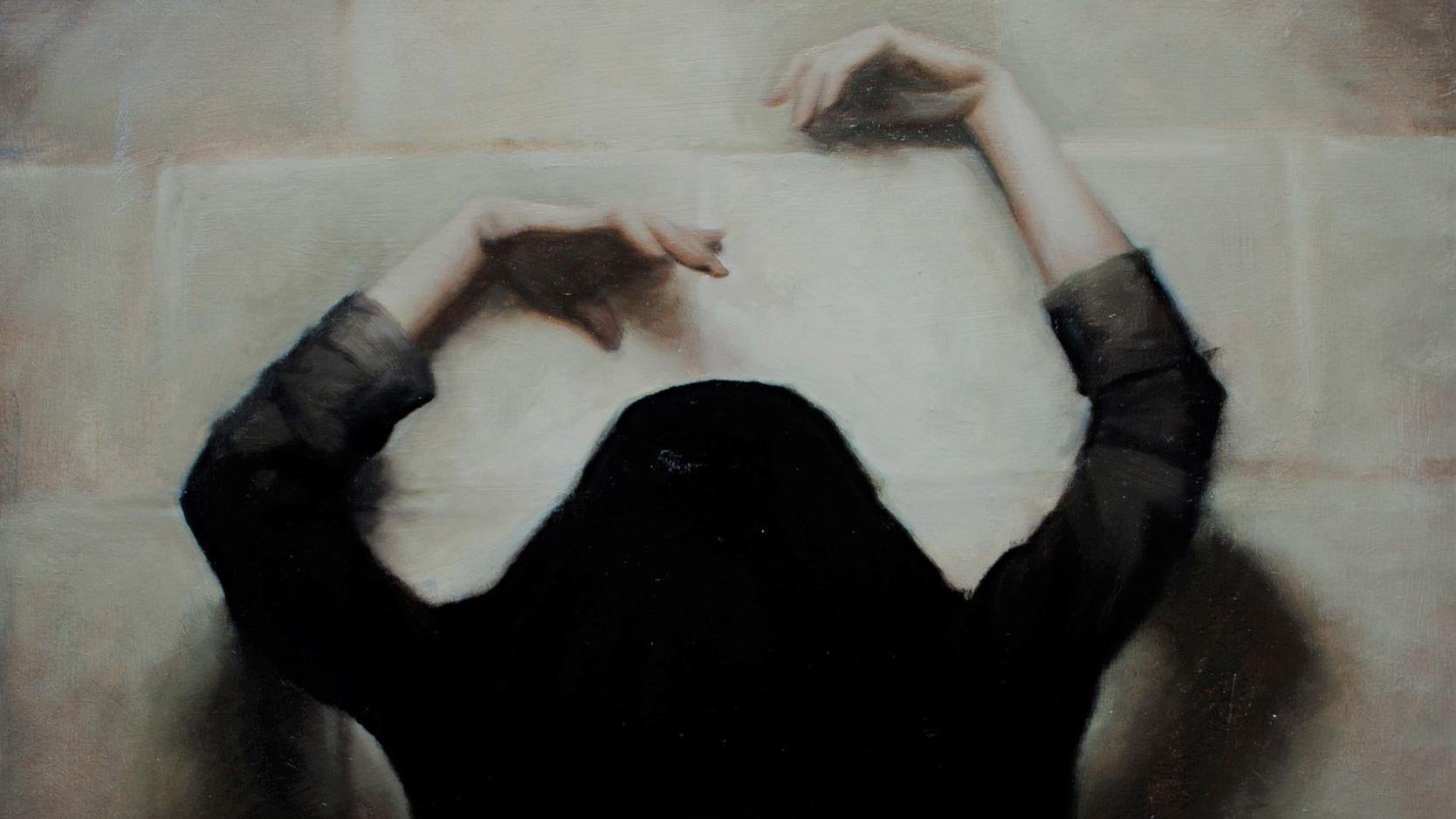 'Obscure' (detail) by Lizet Dingemans