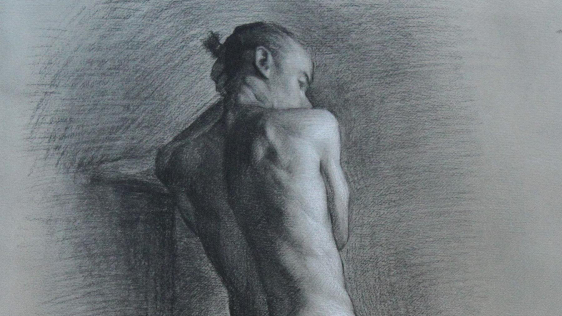 """Adrian"" (detail) by Lucas Garcia"
